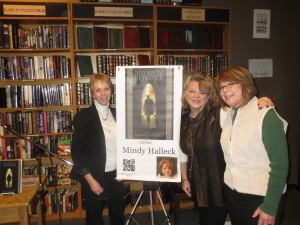Author Jes Stone (left) Me, and (Lyn Jefress on far right)